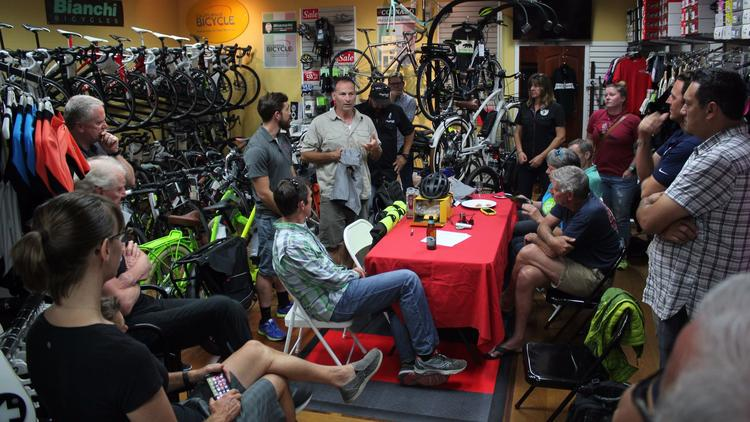 La Jolla Light: Cycling experts say 'ride with lights' day and night at La Jolla bike summit